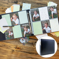 Baby Boy Easy Albums Kit with Navy Album