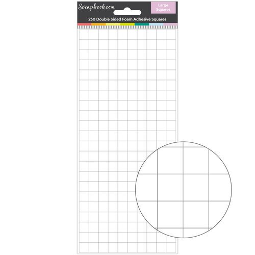 Scrapbook.com - Double Sided Adhesive Foam Squares - Large Squares