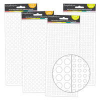 Scrapbook.com - Double Sided Adhesive Foam Rounds Assortment