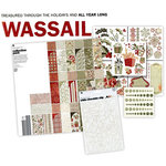BasicGrey - Wassail Collection - 12 x 12 Layout Kit