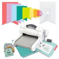 Exclusive Sizzix Big Shot Machine Die Cutting Bundle - Nested Jumbo Banners