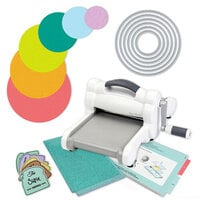 Exclusive Sizzix Big Shot Machine Die Cutting Bundle - Nested Circles
