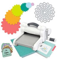 Exclusive Sizzix Big Shot Machine Die Cutting Bundle - Nested Flowers