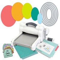 Exclusive Sizzix Big Shot Machine Die Cutting Bundle - Nested Ovals