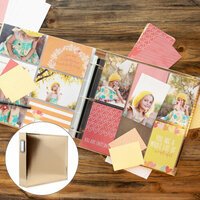 Baby Girl Easy Albums Kit with Gold Album