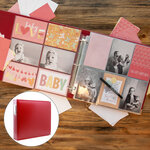 Baby Girl Easy Albums Kit with Red Album