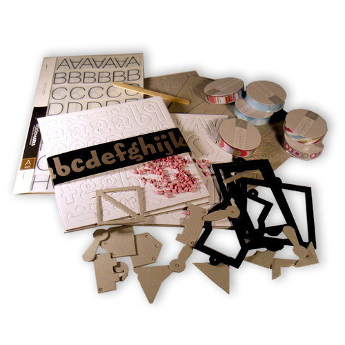 Big Picture Scrapbooking - Product Playground Class - Sampler Pack