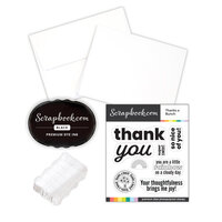 Scrapbook.com - Card Making Kit - Thank You