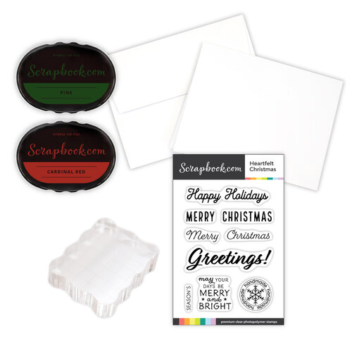Scrapbook.com - Card Making Kit - Christmas