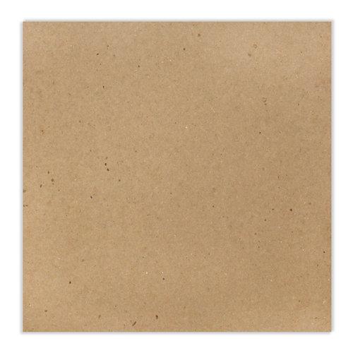 Scrapbook.com - 12 x 12 Chipboard - Standard - 20pt - Natural - One Sheet