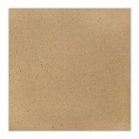 Scrapbook.com - 12 x 12 Chipboard - Standard - 20pt - Natural - One Sheet