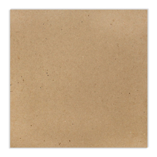 Scrapbook.com - 12 x 12 Chipboard - 1X Heavy - 52pt - Natural - One Sheet