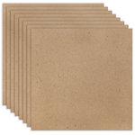 12 x 12 Chipboard - 1X Heavy - 52pt - Natural - Ten Sheets
