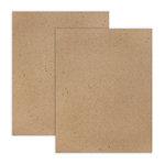 8.5 x 11 Chipboard - Standard - 20pt - Natural - 2 Sheets