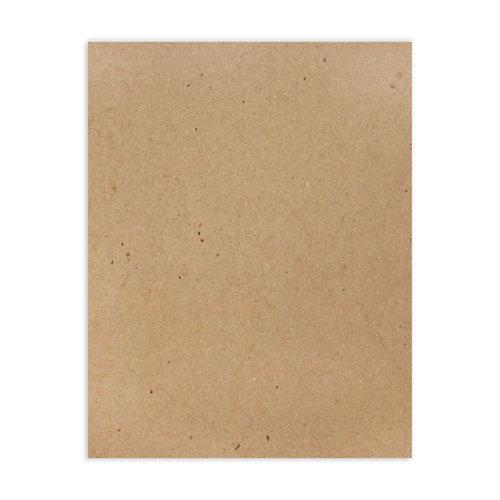 Scrapbook.com - 8.5 x 11 Chipboard - 2X Heavy - 85pt - Natural - One Sheet