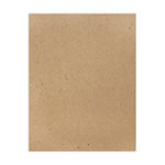 8.5 x 11 Chipboard - 1X Heavy - 52pt - Natural - One Sheet