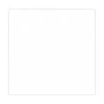 12 x 12 Chipboard - 1X Heavy - 50pt - White 2 Side - One Sheet