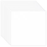 12 x 12 Chipboard - 1X Heavy - 50pt - White 2 Side - Ten Sheets