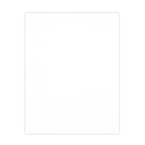 Scrapbook.com - 8.5 x 11 Chipboard - 1X Heavy - 50pt - White 2 Side - One Sheet