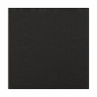 Scrapbook.com - 12 x 12 Chipboard - 1X Heavy - 50pt - Black - One Sheet