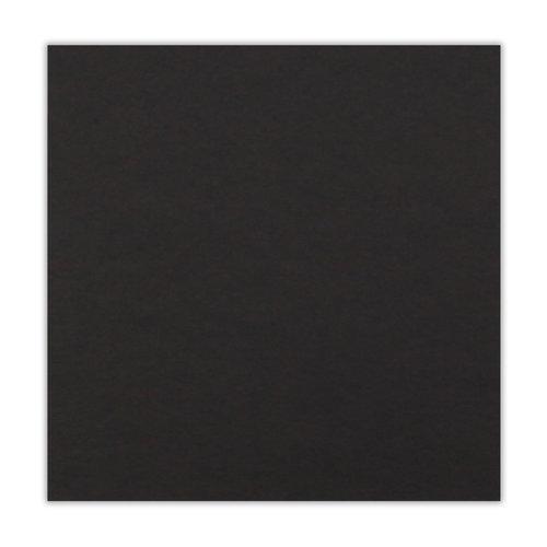 Scrapbook.com - 12 x 12 Chipboard - 2X Heavy - 90pt - Black - One Sheet