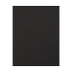 8.5 x 11 Chipboard - 1X Heavy - 50pt - Black - One Sheet