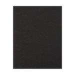 8.5 x 11 Chipboard - 2X Heavy - 90pt - Black - One Sheet