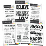 Clear Photopolymer Stamp Set - Christmas Bundle