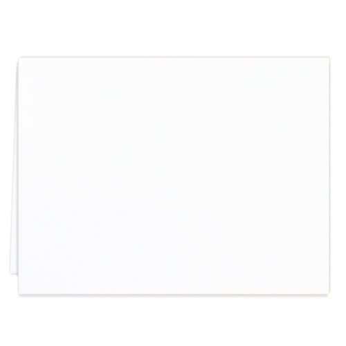 Scrapbook.com - Cards - Neenah, Solar White A2 - Scored - 25 Pack