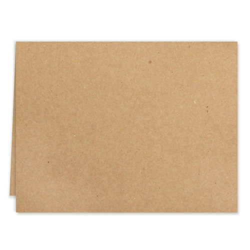 Scrapbook.com - Cards - Kraft A2 - Scored - 25 Pack