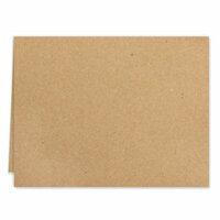 Scrapbook.com - Cards - Kraft A2 - Scored - 25 Pack