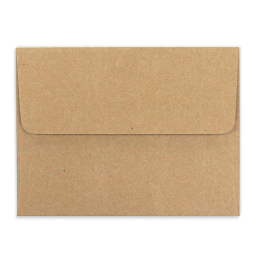 Scrapbook.com - Envelopes - Kraft A2 - 25 Pack