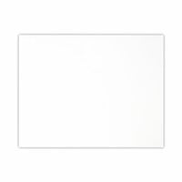 Scrapbook.com - Flat Card Front - 5.5 x 4.25 - Neenah Solar White - 25 Pack