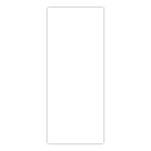 Scrapbook.com - Flat Card Front - 8.25 x 3.25 - Slimline Neenah Solar White - 10 Pack