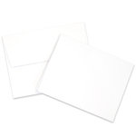 Card and Envelope Set - A2 Neenah, Solar White - 25 Pack