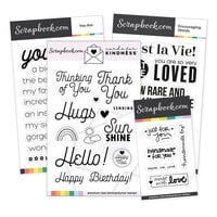 Scrapbook.com - Cards For Kindness - Essentials Stamp Set