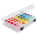 Sponge Dauber Storage Box with 40 Clear Sponge Daubers Included