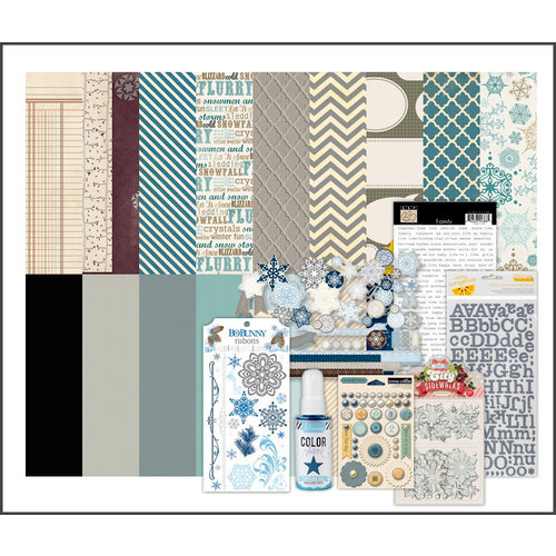 Scrapbook.com Kit Club - Cozy Winter