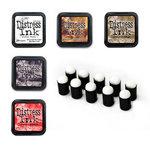 Ranger Ink - Tim Holtz - Distress Ink Pads and Dauber Bundle