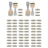 Scrapbook.com - (2) Ink Blending Tools  and (6) 10-Pack of Refill Domed Applicators