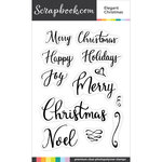 Clear Photopolymer Stamp Set - Elegant Christmas
