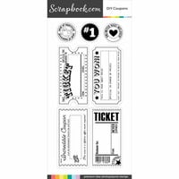 Clear Photopolymer Stamp Set - DIY Coupons