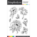 Clear Photopolymer Stamp Set - Fresh Florals and Berries