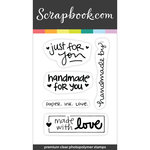 Clear Photopolymer Designer Stamps - Life Handmade Sentiments 1