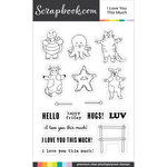 Clear Photopolymer Stamp Set - I Love You This Much