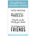 Clear Photopolymer Designer Stamps - You and Me Quotes and Sayings 2