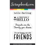 Clear Photopolymer Stamp Set - You and Me Quotes and Sayings 2