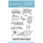 Clear Photopolymer Designer Stamps - Sweet Celebration