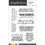 Clear Photopolymer Stamp Set - Sassy Best Friends