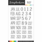 Clear Photopolymer Stamp Set - Big Date Stamps